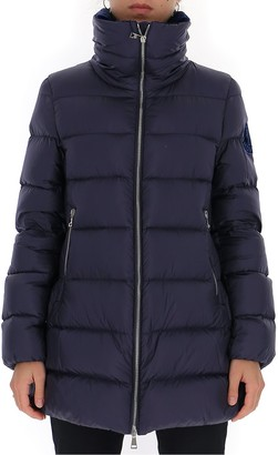 Moncler Zipped High Collar Puffer Jacket