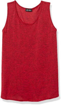 Star Vixen Women's Petite Sleeveless U-Neck Easy Fit Pullover Sweater Knit Top
