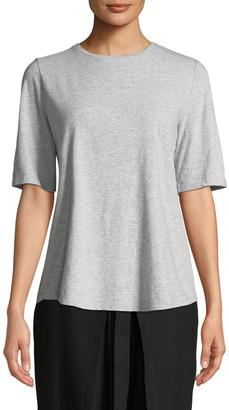 Eileen Fisher Petite Slubby Organic Cotton Shirt
