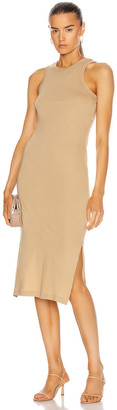 John Elliott Supima Racerback Midi Dress in Linen | FWRD