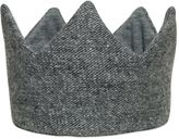 Il Gufo Sequined Wool Tricot Crown