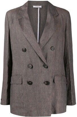Peserico Double-Breasted Blazer