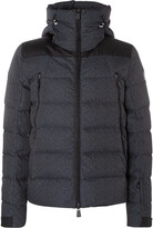 Moncler Quilted Down Ski Jacket