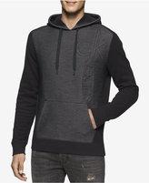 Calvin Klein Jeans Men's Colorblocked Embossed Logo Hoodie