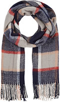 Barneys New York WOMEN'S PLAID SCARF
