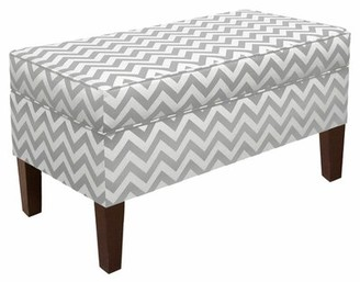 Skyline Furniture Emilie Upholstered Storage Bench