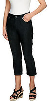 As Is Isaac Mizrahi Live! Icon Grace Regular Cropped Denim Jeans