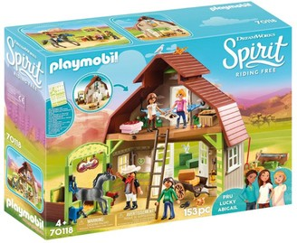 Playmobil Spirit Riding Free Barn