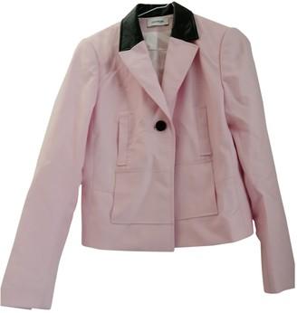 Courreges Pink Cotton Jacket for Women