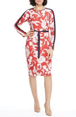 Maggy London Loralee Long Sleeve Knit Dress