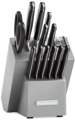 KitchenAid 14-Piece Classic Forged Triple Rivet Cutlery Set