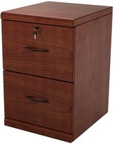Z-Line Designs 2 Drawer Vertical File Cherry Cabinet with Black Accents