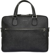 Coach Pebbled Leather Briefcase