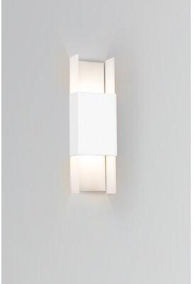 Cerno Ansa LED Outdoor Flush Mount Fixture Finish: Textured White