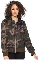 Levi's Flight Bomber with Welt Pockets (Camo) Women's Coat
