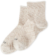 Hue Roll Top Shortie Socks