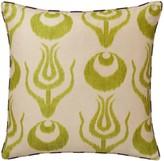 OKA Bohlam Cushion Cover - Lime/Aubergine