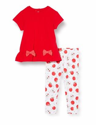 Chicco Baby Girls' Completino 2 Pezzi Bimba: T-Shirt Manica Corta + Leggings Clothing Set
