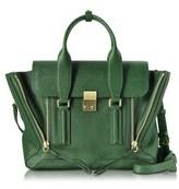 3.1 Phillip Lim Women's Green Leather Handbag.