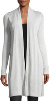 Neiman Marcus Long-Sleeve Open-Front Cardigan