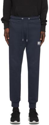 Diesel Navy P-Tary Logo Lounge Pants