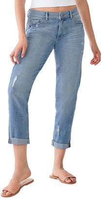 DL1961 Riley Straight Boyfriend Cropped Jeans