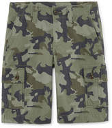 Arizona Solid Cargo Shorts - Boys 4-20