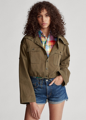 Ralph Lauren Drawcord Cotton Twill Jacket