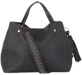 Oasis Harper Strap Detail Tote Bag, Black