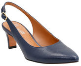 Clarks Leather Point-Toe Slingback Shoes