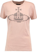 Vivienne Westwood Embroidered Cotton-Jersey T-Shirt