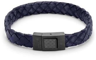 Tateossian Braided Leather Bracelet