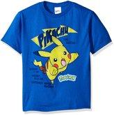 Pokemon Little Boys' Short Sleeve T-Shirt Shirt
