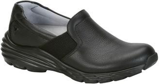 Nurse Mates Leather Slip On Shoes - Harmony