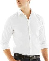 Jf J.Ferrar JF Long-Sleeve Satin Stripe Shirt