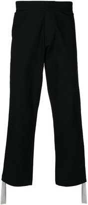 Kokon To Zai Side chain panel trousers
