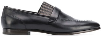 Brunello Cucinelli Shiny Fringe Loafers