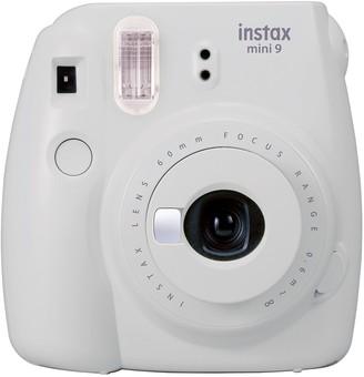 Instax Mini By Fujifilm Smokey White Instax Mini 9 Camera Bundle 3-Piece Set