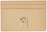Furla 1927 Small Credit Card Case (Sand) Handbags