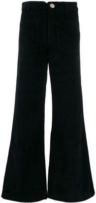Masscob Flared Cord Trousers