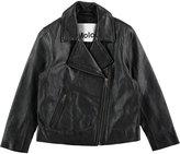 Molo Girl's Hazel Jacket - Washed Black