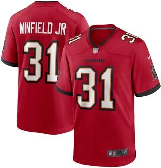 Nike Men's Antoine Winfield Jr. Red Tampa Bay Buccaneers 2020 NFL Draft Pick Game Jersey