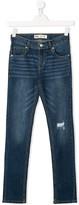 Levi's Kids TEEN distressed slim-fit jeans