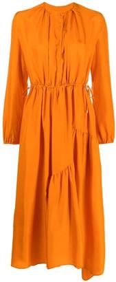 Christian Wijnants Long-Sleeve Flared Dress