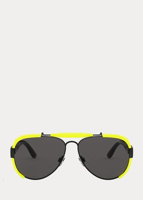 Ralph Lauren Fluorescent Pilot Sunglasses