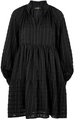 Stine Goya Jasmine Black Checked Mini Dress