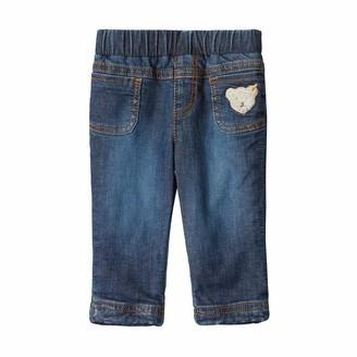 Steiff Baby Girls' Denim Pants Jeans