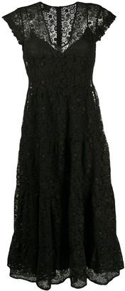 Pinko Lace Midi Dress