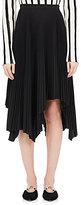 Proenza Schouler Women's Pleated Taffeta Mid-Length Skirt