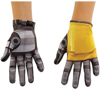 Transformers Bumblebee Movie Bumblebee Child Halloween Costume Accessory Gloves